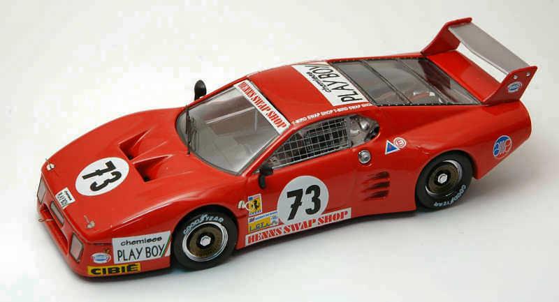 Ferrari 512 Bb  73 49th Lm 1982 Henn   Lanier   Morin 1 43 Model BEST MODELS