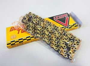 IZUMI-IZUMI-V-Super-Toughness-1-2-x-1-8-106L-Track-Racing-Bicycle-Chain-Gold