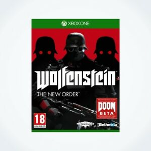 WOLFENSTEIN-The-New-Order-sur-XBOX-ONE-Neuf-Sous-Blister-Version-FR