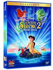 "DVD ""LA PETITE SIRENE 2 : Retour à l'Océan "" Walt Disney N°56 NEUF SOUS BLISTER"