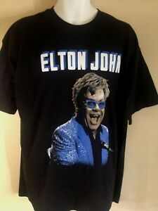 3089616e23d Image is loading ELTON-JOHN-WORLD-TOUR-2014-XL-LARGE-T-