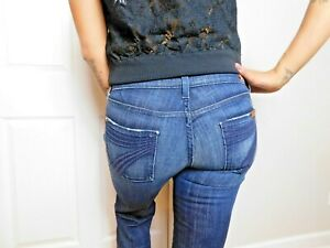 Seven-7-For-All-Mankind-DOJO-CROP-Jeans-size-26-euc