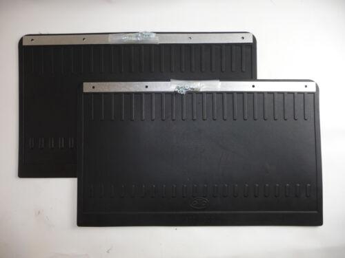 2 coladero schmutzlappen protección contra salpicaduras camiones goma 500x300 mm 50x30 cm-nuevo