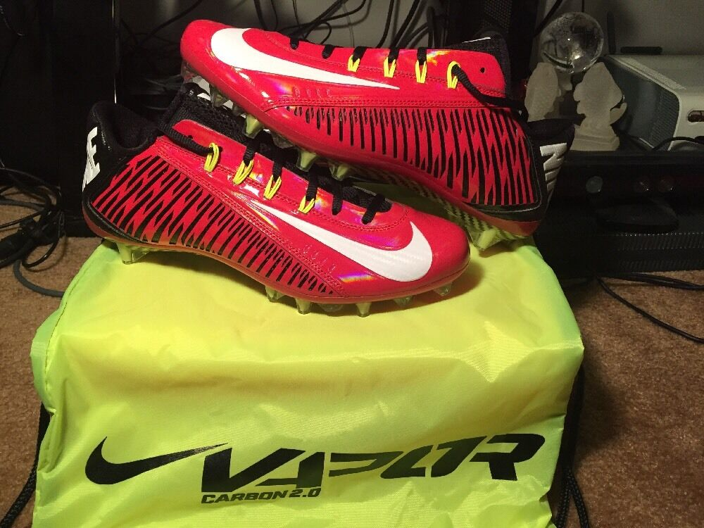 New Nike Vapor Carbon Elite 2014 TD Game Red Black White Comfortable Cheap and beautiful fashion