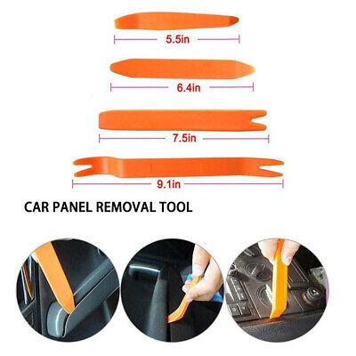 4Pcs Car Door Plastic Trim Panel Clip Dash Radio Removal Open Pry Tools Kit