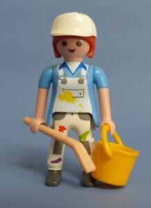 Playmobil-peintre-decorateur-Artist-Series-16-figure-feminine-nouvelle-version-70160
