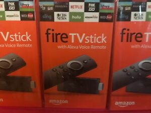 BRAND NEW AMAZON FIRE TV STICK ALEXA VOICE REMOTE  2ND GENERATION