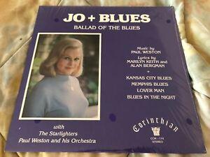 JO STAFFORD  new SEALED LP  record JO + BLUES