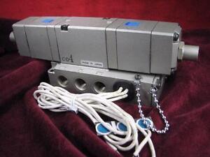 SMC-Solenoid-Valve-with-Manifold-CO4-90v-100v-50Hz-100-115V-60Hz