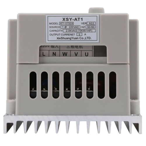 220V 2HP 0.75KW Single Phase To 3//Three Phase Output Frequency Converter VFD VSD