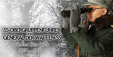 DID TOYS THE WWII GM622 HERBERT OTTO GILLE WAFFEN-SS- 1899-1966 12INCH FIGURE