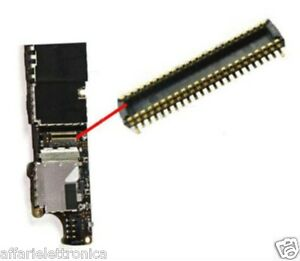 CONNECTEUR-FPC-CARTE-MERE-pour-prise-plat-flex-dock-recharge-l-039-Iphone-4S-4-S