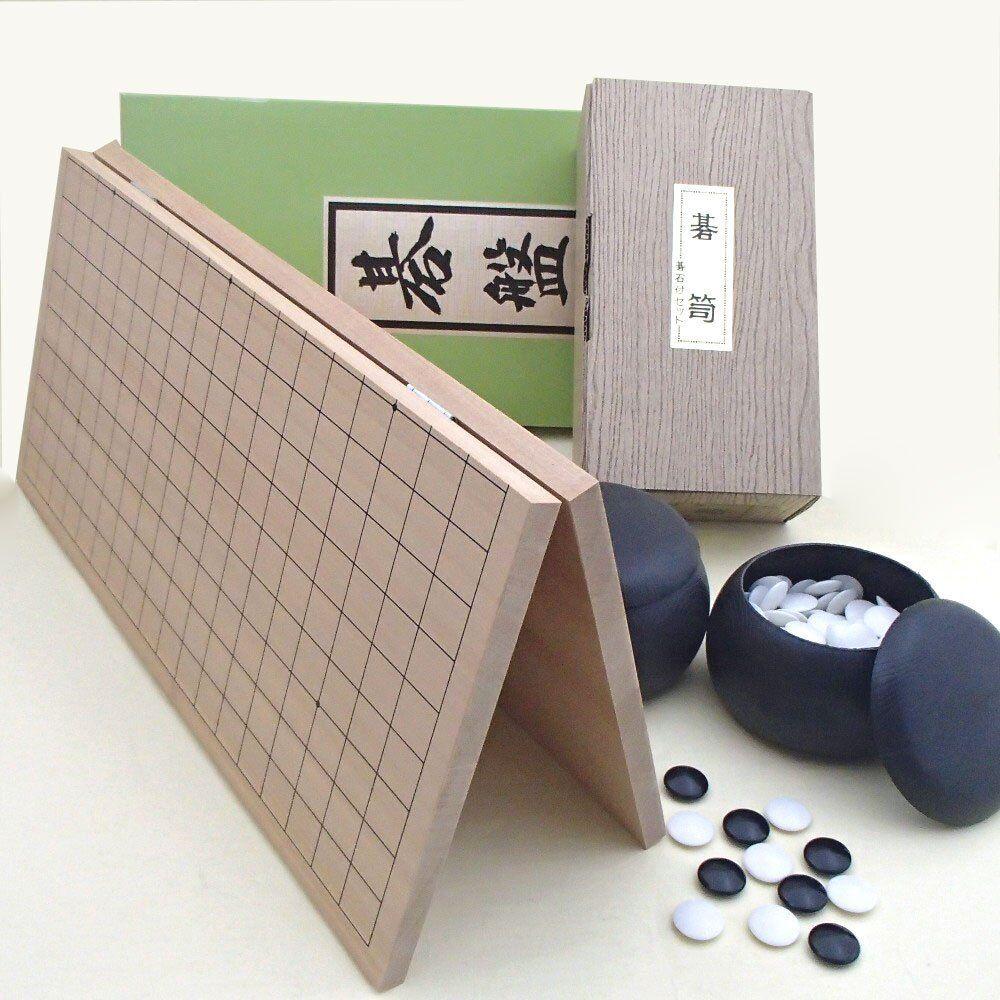 Giapponese Igo Go Goishi Pieghevole Legno Tavola Set 5gou Shou da Giappone