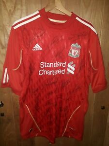Manchester United signed football shirt