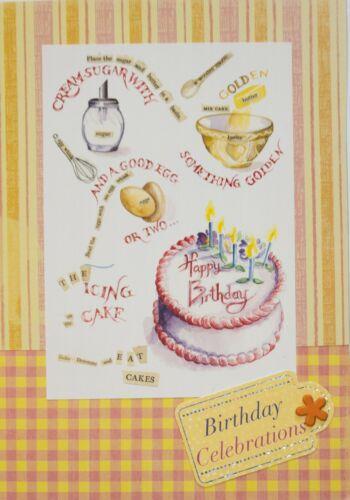 Handmade Cupcakes Tea Mice with Cakes Cups Birthday Cards Cakes Teacups
