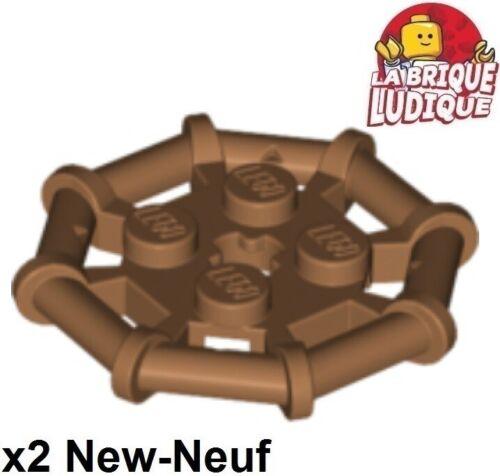 Lego x2 Plate Modified 2x2 Bar Frame Octagonal chair//medium nougat 75937 NEUF