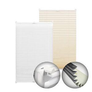 gardinia easyfix thermo plissee abdunkelnd klemmtr ger schnurlos klemmplissee ebay. Black Bedroom Furniture Sets. Home Design Ideas