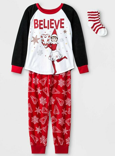 The Elf on the Shelf Little Girls Nightgown Size - 4