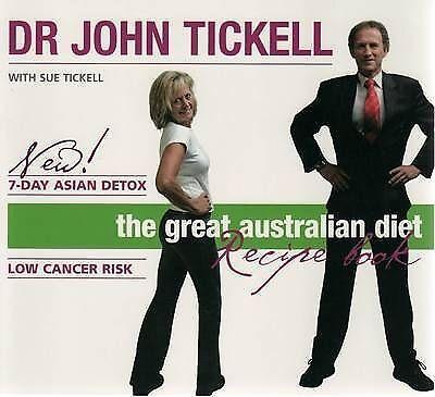 The Great Australian Diet Recipe Book Dr John Tickell SC Used Good