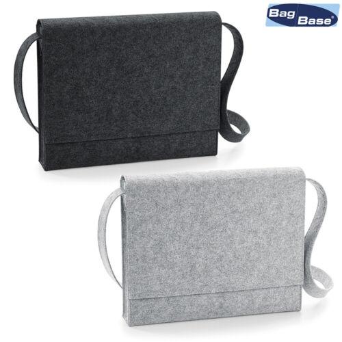 A4 Folders /& Documents Work Satchel BagBase Polyester Felt Messenger BG730