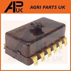 massey ferguson 265,275,285,290,298 tractor electric fuse box ford tractor fuse box image is loading massey ferguson 265 275 285 290 298 tractor