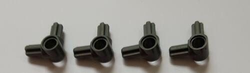 4x Lego Technic NEU Achs Pin Verbinder 10197 dunkelgrau Nabe 2 Achsen 600533 NEU