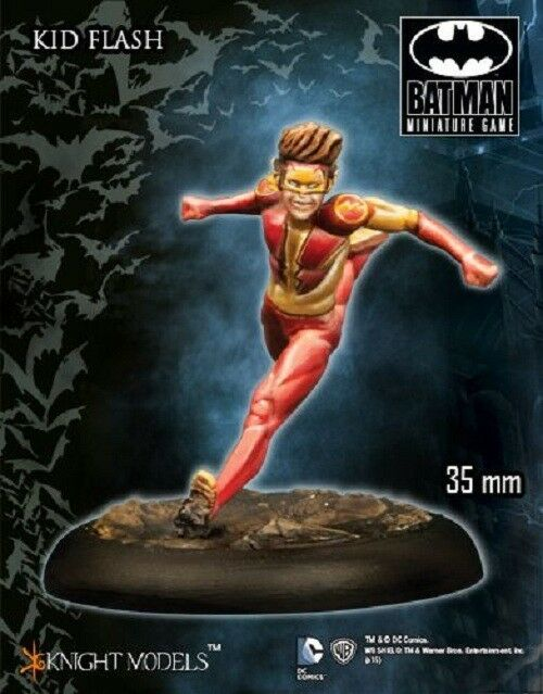 Knight Models Kid Flash 35mm Tabletop Miniature DC Universe Batman Game
