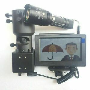 DIY-Rifle-Night-Vision-Scope-With-CCD-amp-Flashlight-Fr-Riflescope-850nm-IR-Torch