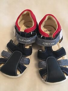EUC Used Geox Respira 24 Mth Baby Boy Girl Breathable Sandal Shoes Walking
