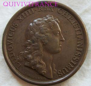 MED6554-MEDAILLE-LOUIS-XIV-1656-PRISE-DE-VALENCE-ITALIE