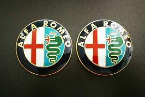 2-Fregio-Stemma-Logo-Emblema-Anteriore-Alfa-Romeo-GTV-147-156-159-146-Mito