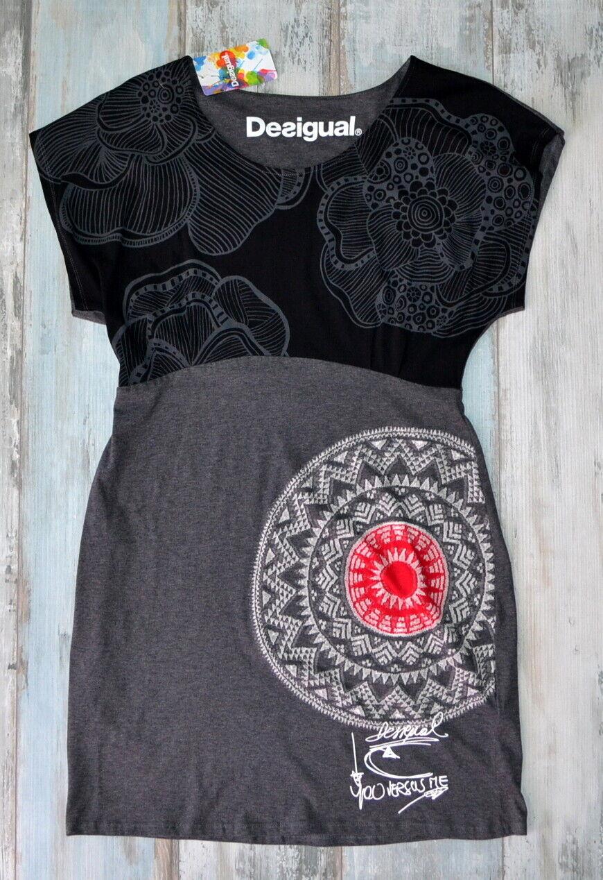 - DESIGUAL BEAUTIFUL GREY DRESS size XXL 2XL