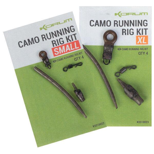 Korum Camo Corsa Rig Kit di 4 per confezione
