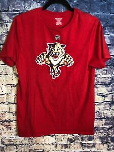 NHL-FLORIDA-PANTHERS-TSHIRT-RED-SIZE-MEDIUM-PANTHERS-Jersey-Shirt-Only-One-On