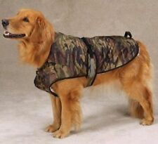 Zack & Zoey Companion Camo Dog Jacket Coat Fleece GREEN L LARGE