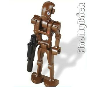SW187 Lego Star Wars Commando Droid Minifigure with Blaster 9488 NEW
