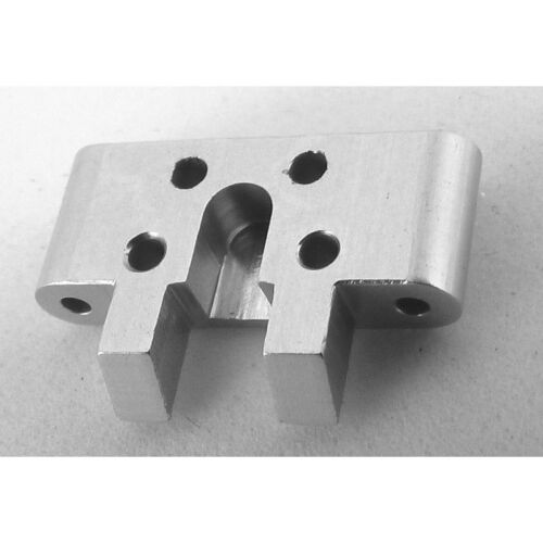 Hot Racing MCT0808 Losi 1//36 Micro-T Front Lower Arm Mount Silver