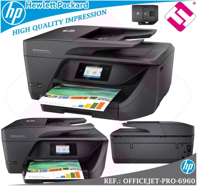 MULTIFUNCION HP INYECCION COLOR OFFICEJET PRO 6960 FAX WIFI DUPLEX ( PROPUESTA )