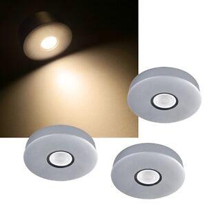 3er-Set-LED-Einbauleuchten-EEK-A-300lm-230V-5-4W-Aufbauleuchte-Moebelleuchte