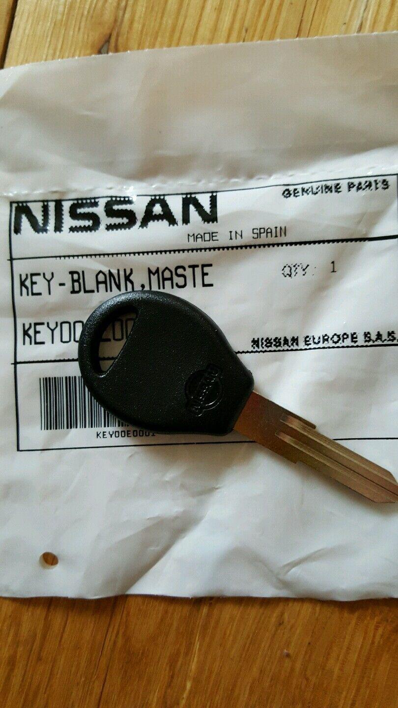 Nissan Sunny Pulsar GTI-R key blank,new genuine part.