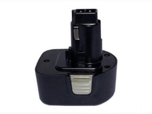 Power smart 2000mah Batterie pour Black /& Decker KC 12 GTKH kc2000fk mt1203b q129