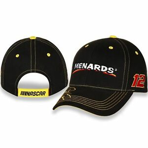 Details about Ryan Blaney #12 Menards Die-Hard Fan Cotton Embroidered Hat