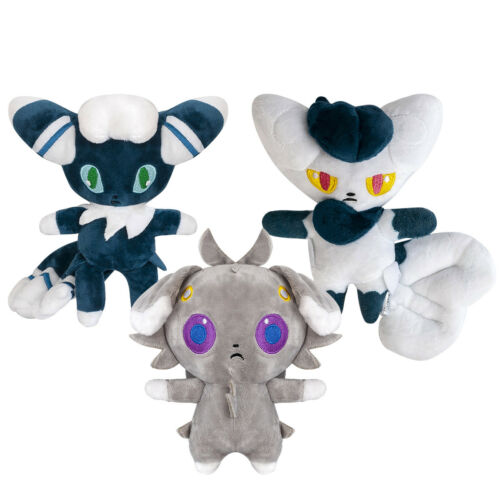 Pokemon Espurr and Meowstic Male//Female Soft Stuffed Plush Doll Gift