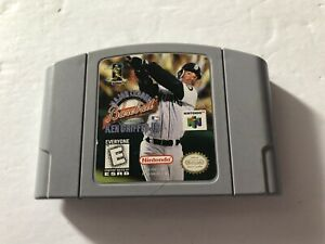 Major League Baseball Featuring Ken Griffey Jr. Nintendo 64 N64 Cartridge TESTED
