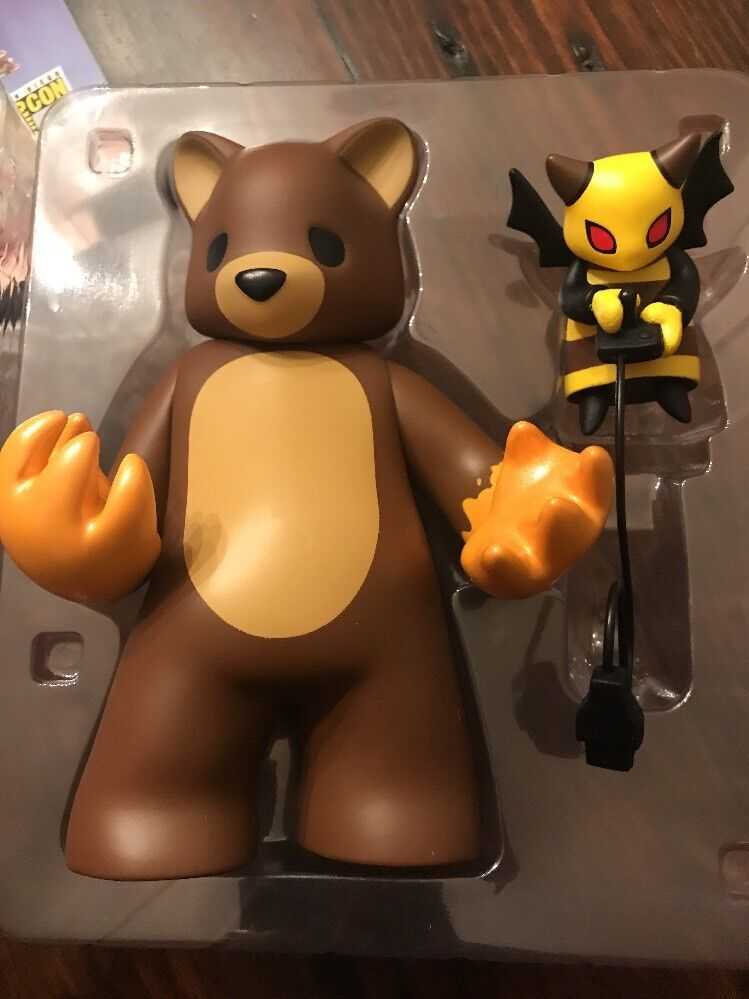 2018 SDCC EXCLUSIVE LUKE CHUEH MUNKY KING HONEY BEAR FIGURE Possessed SIGNED