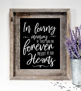 In-Loving-Memory-Wedding-Rustic-Chalkboard-Style-sign-8x10