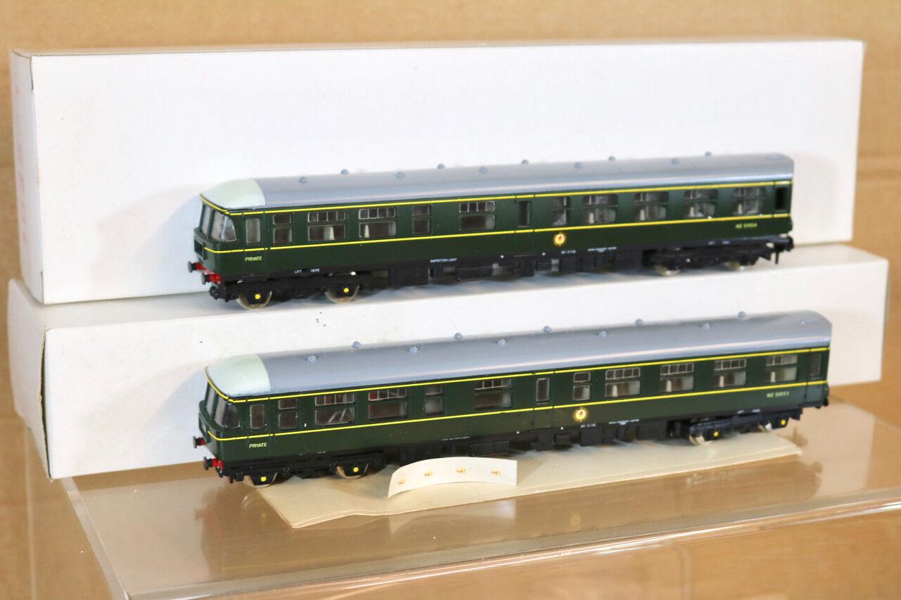 Liliput Trix 1025 Br Clase verde 124 Trans Pennine Dmu Juego 1988 Producción Nn