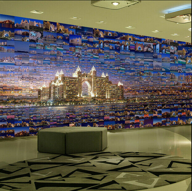 3D Building Puzzle 784 Wall Paper Murals Wall Print Wall Wallpaper Mural AU Kyra