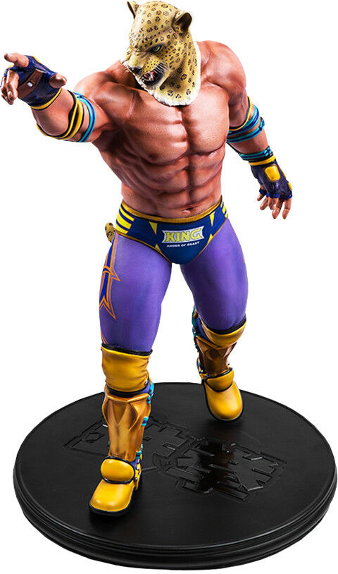 TEKKEN 5 - The King  19  Polystone Limited Edition Statue (First 4 Figures)  nouveau  marques de mode
