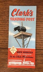 vintage 1973 new hampshire tourist travel pamphlet clark s trading